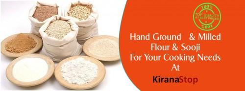 flour and sooji